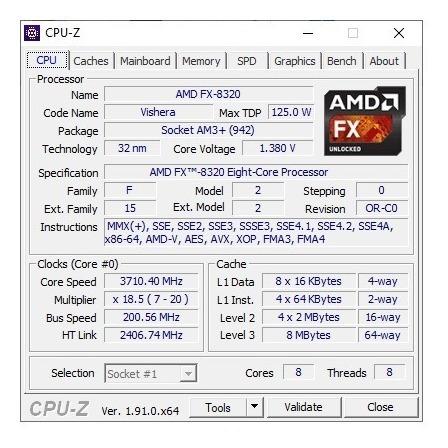 Computador Amd Fx 8320 16 Gb Memória Hd 750 Gb