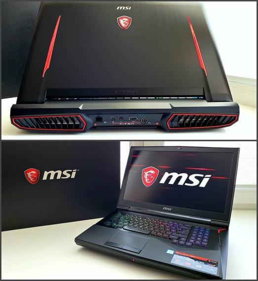 Msi Gt75vr 7rf Titan Pro-120hz Mechanical Keyboard Gtx 1080-