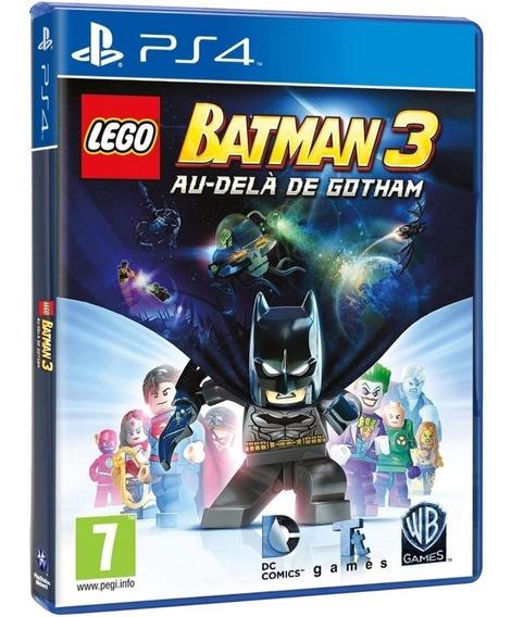 Jogo Lego Batman 3 Ps4 Mídia Física Lacrado Português Oferta