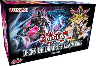 Yu-gi-oh! Decks De Dragões Lendários - Português - Konami