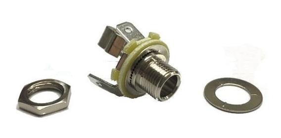 Conector Jack 6,5 Mono A Chasis Artekit P229