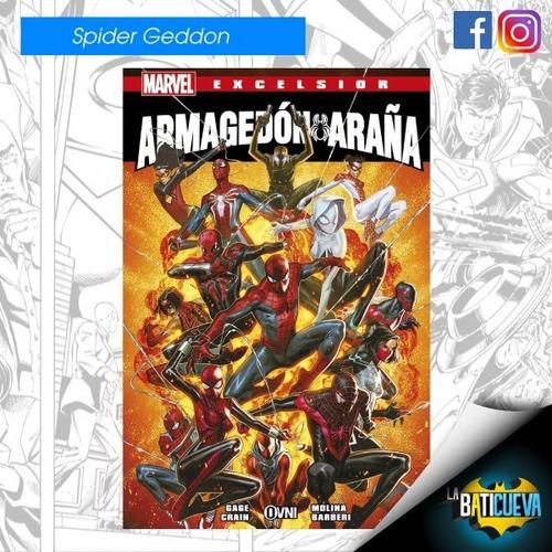 Comic Armagedon Araña Español Latino