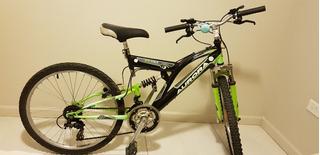 Bicicleta Aurora Rodado 24dsx Mtn Doble Suspensión Shimano