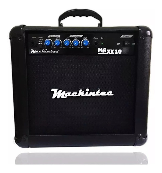 Cubo Amplificador Guitarra Maxx15 Color Mackintec