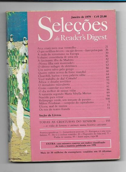 *sll* Revista Seleções Do Readers Digest - Janeiro De 1979