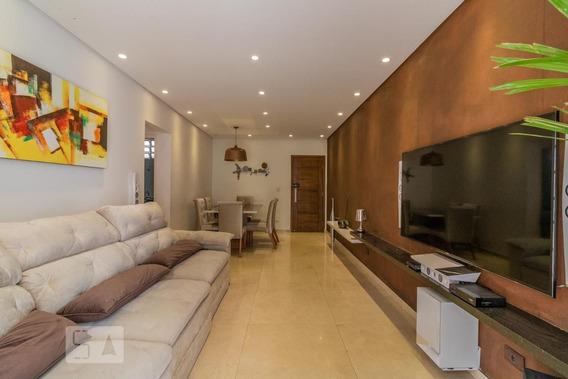 Apartamento No 1º Andar Mobiliado Com 2 Dormitórios E 2 Garagens - Id: 892961956 - 261956