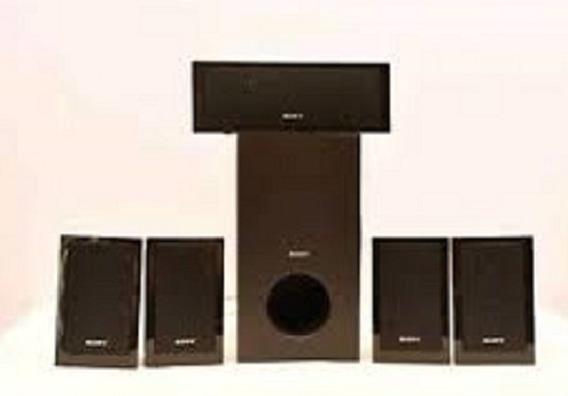 Kit 6 Caixas De Som Sony Frontais Surround Central Subwoofer