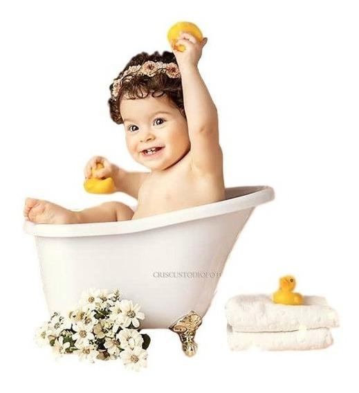 Banheira Vitoriana P Props Newborn Acompanhamento Fotografia
