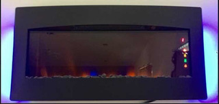 Chimenea Eléctrica De Pared Classic Flame 86.4 Cm De Largo