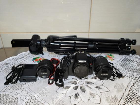 Kit Câmera Eos Rebel T6i