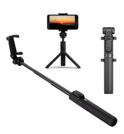 Tripe Bastão Selfie Retratil Xiaomi 360 Youtuber Fotos