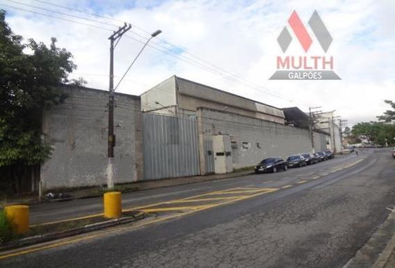 Galpão Industrial Para Venda E Locação, Campanário, Diadema. - Ga0156