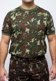 Camisa Camuflada 100% Algodão