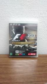 Jogo De Playstation3: Formula 1 Edição Clássica F1 2013