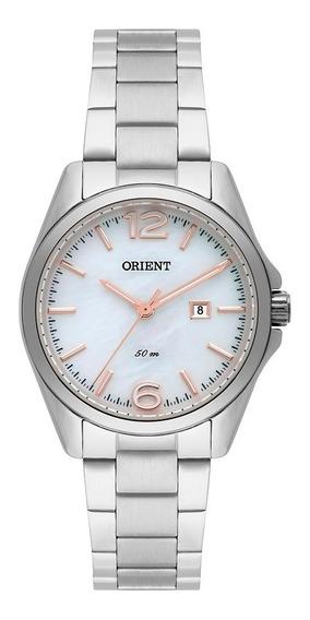 Relógio Orient Eternal Feminino Prata F Branco Fbss1124 B2sx