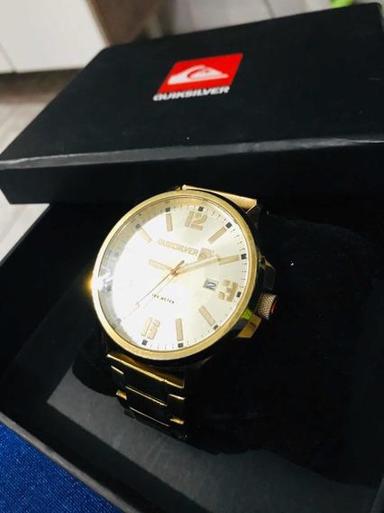 Relógio Quiksilver Beluka Gold 24k