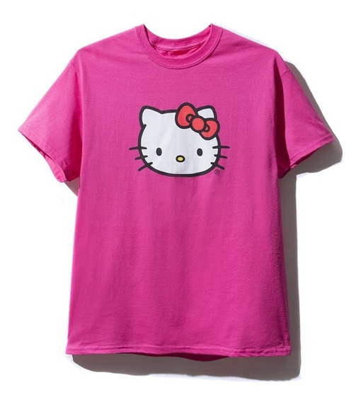 Playera Anti Social Social Club X Hello Kitty - Talla S Y M