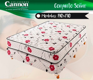 Sommier Cannon Soñar 140x190 Neuquén Capital