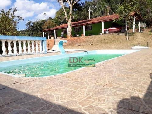 Imagem 1 de 15 de Chácara Com 2 Dormitórios À Venda, 12000 M² Por R$ 550.000,00 - Cachoeira Grande - Lagoinha/sp - Ch0689