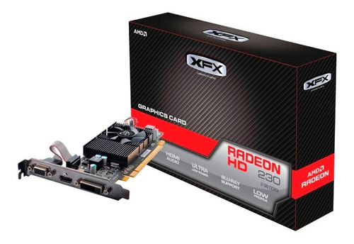 Placa Video Radeon R5 230 2gb Ddr3 128 Bits Xfx Hdmi