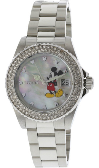 Remate! Bello Reloj Invicta Ed Limitada Disney Cristal