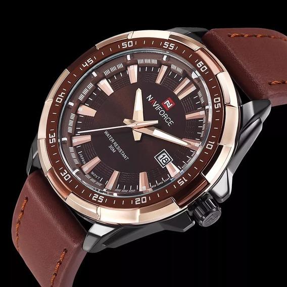 Relógio Masculino Luxo Naviforce 9056 Original Promoção