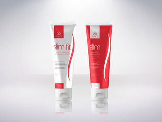 Kit 2 Slim Fit Creme Lipo Redutor E 2 Slim Refreshing Akmos