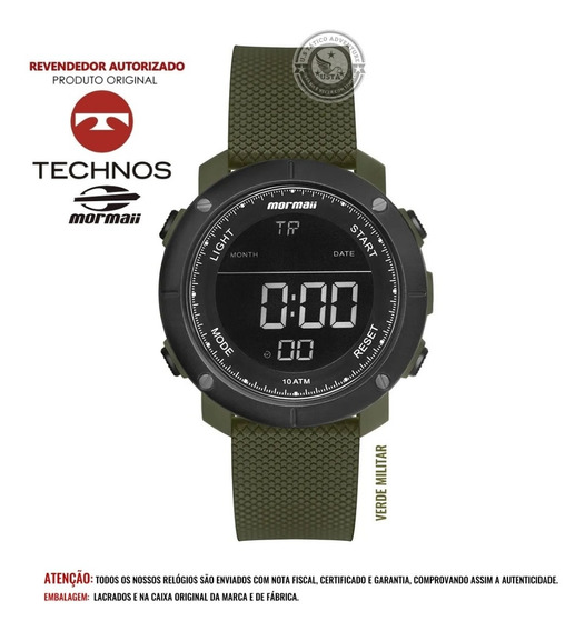 Relógio Wave Mormaii Tático Masculino Mo0700ad Technos C/nfe
