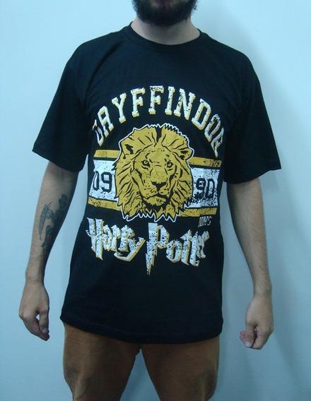 Camiseta Harry Potter - Grifinória - Gryffindor Lions
