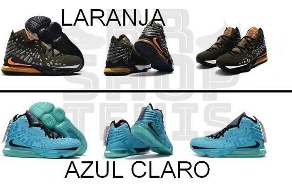 Tenis Nike Lebron 17 Original Varias Cores Leia A Descriçao
