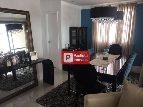 Cobertura Com 4 Dormitórios À Venda, 250 M²  - Vila Mascote - São Paulo/sp - Co0683