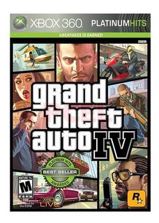 Grand Theft Auto Iv Xbox 360 - S001