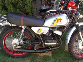 Antiga Yamaha Tt 125 1982 Raridade