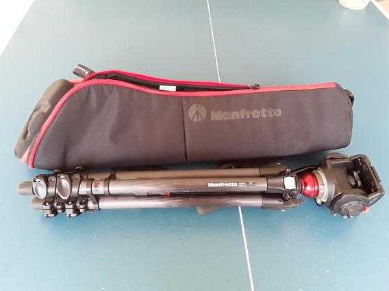 Tripé Mt755cxpro3 Manfrotto Fibra De Carbono Acompanha Bolsa