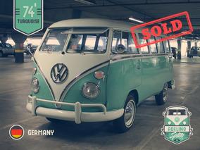 Volkswagen Kombi - Vw Bus T1 Samba - 23 Windows - Export
