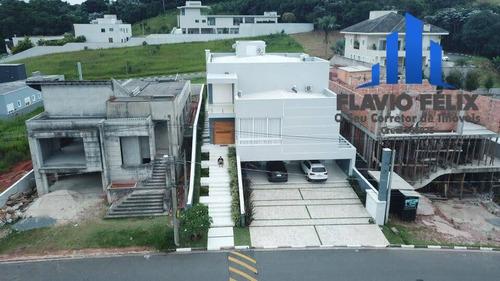 Casa A Venda Condomínio Verdes Lagos Com 4 Suítes  340 Metros Arujá - 734