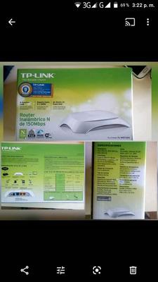 Vendo Router Tp-link