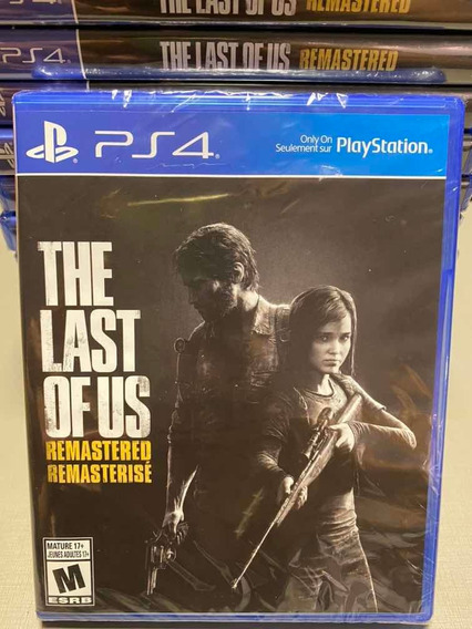 The Last Of Us - Ps4 - Mídia Física - Original - Lacrado