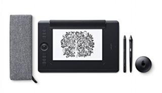 Tableta Grafica Wacom Pth-660p Intuos Pro Paper Medium Bluet