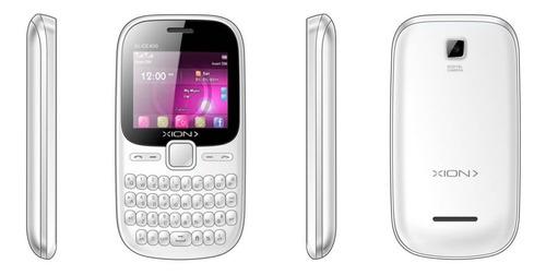 Celular Xion Blanco Y Peach Xi-ce400 Nnet