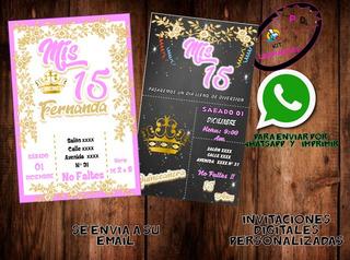Tarjetas De Invitacion 50 Años Cumpleaños Bucaramanga