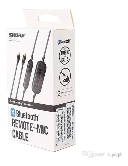 Cabo Bluetooth Shure Para Se215, Se315, Se425, Se535 E Se846