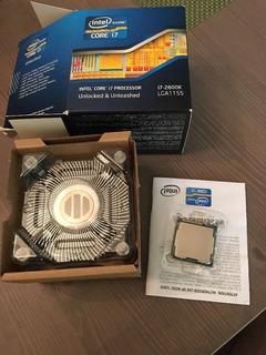 Procesador Core I7-2600k Socket 1155