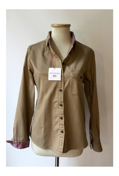Camisa Ines De La Fressange Para Uniqlo Talle M