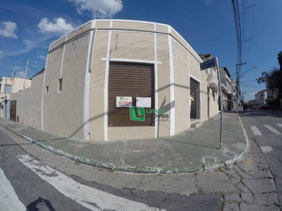 Salão Para Alugar, 50 M² Por R$ 1.500/mês - Limão - São Paulo/sp - Sl0037
