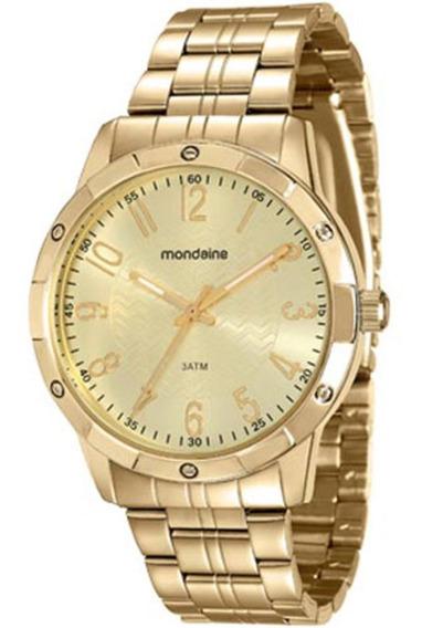 Relógio Feminino Mondaine 94774lpmvde Dourado Barato Vltrine