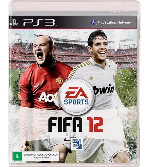 Ps3 Fifa 2012 - Original - Game Fisico