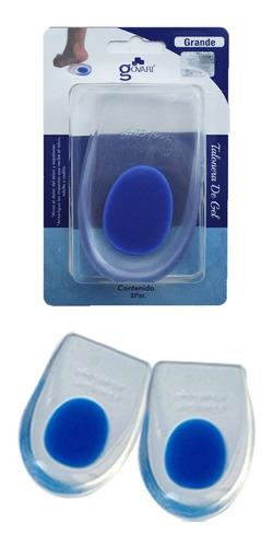 Talonera De Gel Para Espolon Calcaneo Punto Azul(firme)