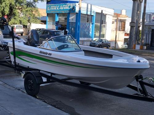 Bote Victoria 430 C/consola Linea 2020 Astillero Victoria