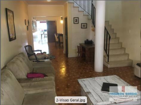 Sobrado Com 3 Dormitórios À Venda, 280 M² Por R$ 1.500.000,00 - Vila Mariana - São Paulo/sp - So0056